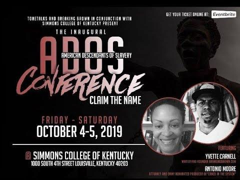 [WATCH] Day 2 of the #ADOS Conference (Updated: 7 October 2019) 1