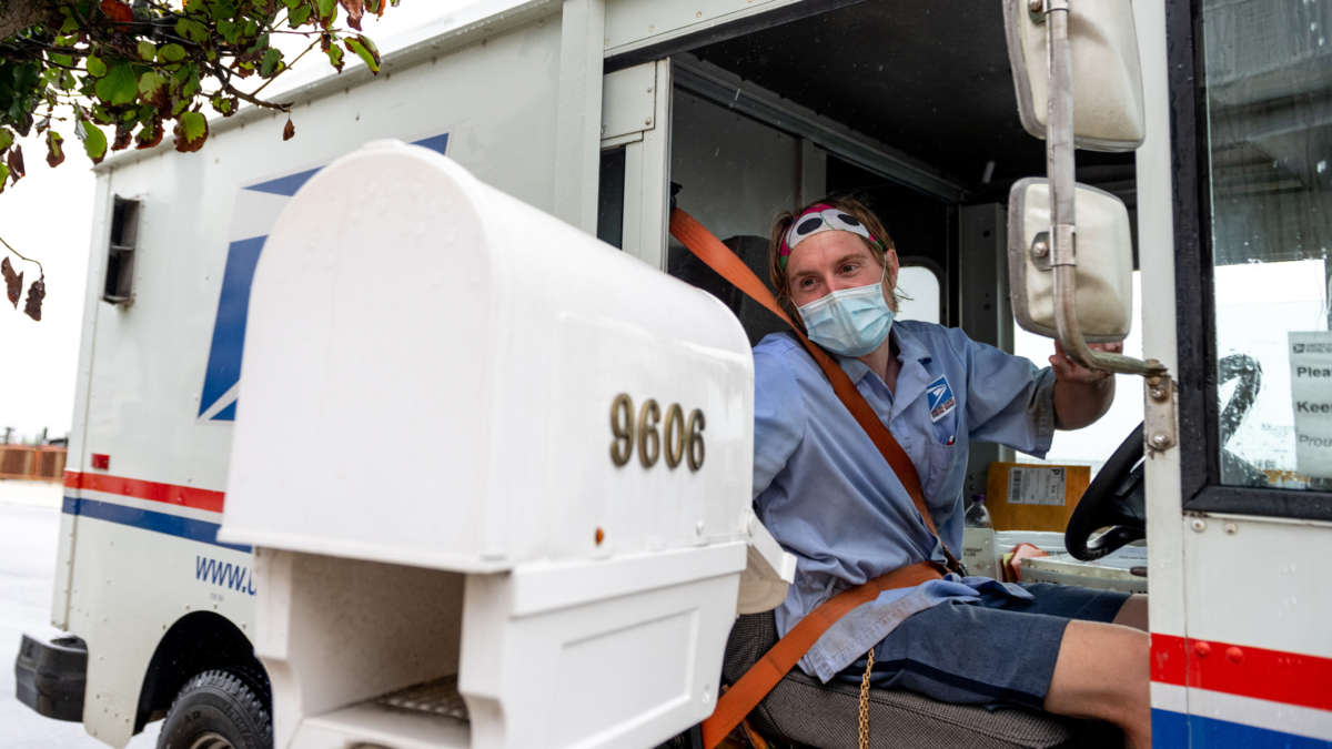 The White House Blocked USPS Plans to Deliver Masks to Every Household 1