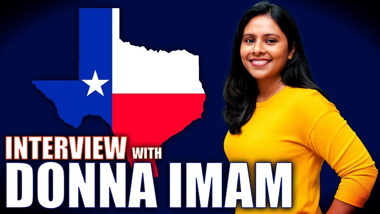 Donna Imam is on the Cusp of Flipping a Congressional Seat in Texas | Full Interview 1