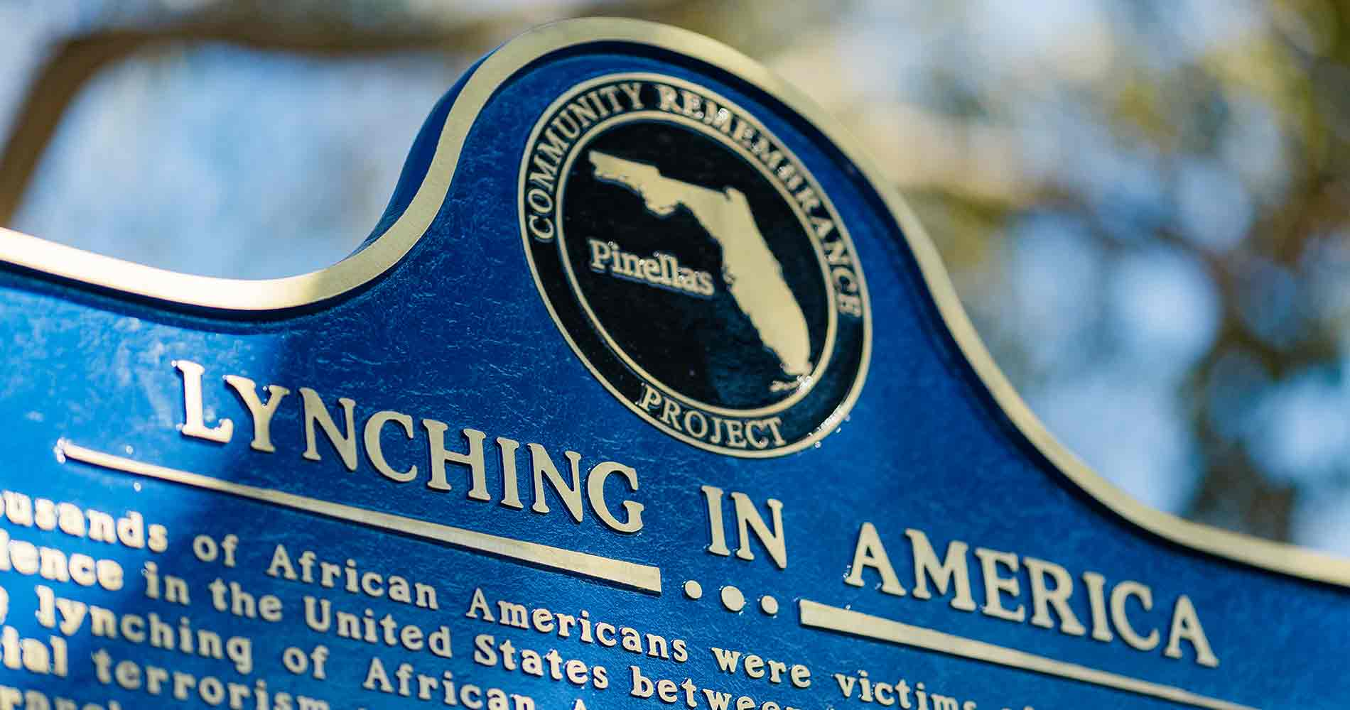 EJI Partners with Pinellas County, Florida, to Memorialize Lynching of John Evans 1